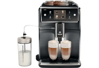SAECO Xelsis SM7786 - Kaffeevollautomat mit Cappuccinatore - Titan / Edelstahl