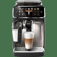 PHILIPS Kaffeevollautomat 5400 Series, mit Latte Go-Milchsystem, EP5447/90 Schwarz/Chrom