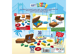 ZYGOMATIC Get Packing Familienspiel Mehrfarbig