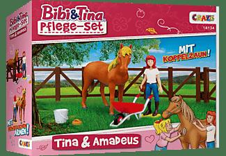 CRAZE Pflegeset, Tina und Amadeus Spielset, Mehrfarbig