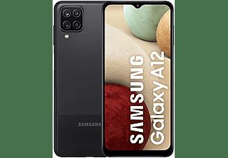 """Móvil - Samsung Galaxy A12, Negro, 32 GB, 3 GB RAM, 6.5"""" HD+, Octa-Core, 5000 mAh, Android"""