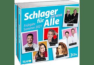 VARIOUS - Schlager für Alle-Die Neue:Frühjahr/Sommer 2021  - (CD)