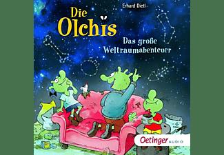 Erhard Dietl - Die Olchis: Das große Weltraumabenteuer  - (CD)