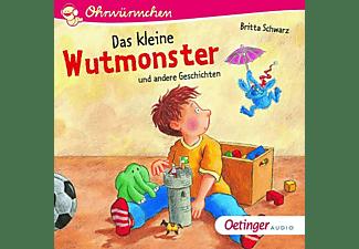 Schwarz,Britta,  Bohnstedt,Antje,  Lindemann,Joha - Das kleine Wutmonster und andere Geschichten  - (CD)