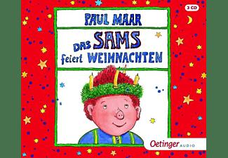 Paul Maar - Das Sams feiert Weihnachten  - (CD)