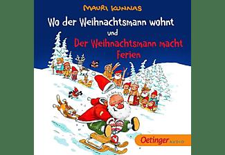 Mauri Kunnas - Wo der Weihnachtsmann wohnt und Der Weihnachtsmann  - (CD)