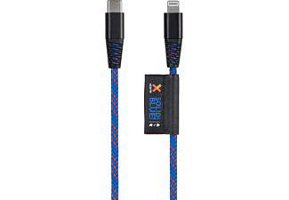 XTORM Solid Blue USB-C Lightning, Kabel, 1 m, Blau