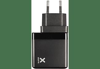 XTORM Volt Laptop Travel Charger USB-C PD Reiseadapter universal 65 W, Schwarz