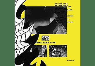 Peter -& Koma Saxo- Eldh - LIVE (BLACK)  - (Vinyl)