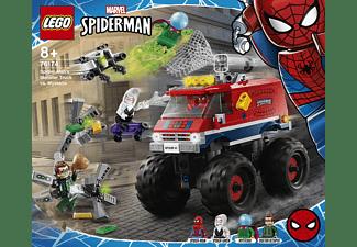 LEGO Spider-Mans Monstertruck vs. Mysterio Minifiguren, Mehrfarbig
