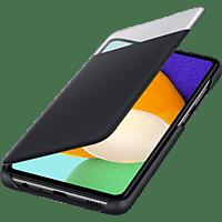 SAMSUNG S-View Wallet Cover für Galaxy A52, Schwarz