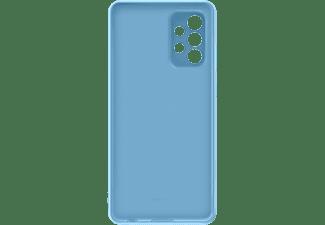 SAMSUNG Silicone Cover für Galaxy A72, Blau