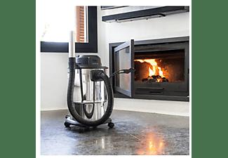 Aspirador sin bolsa - Cecotec Conga PopStar 12200 Ash Steel, 1200 W, Para cenizas, Capacidad 20 l, Metal, Inox