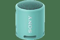 SONY SRS-XB13 Bluetooth Lautsprecher, Hellblau, Wasserfest