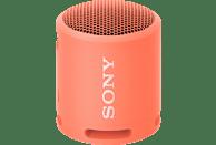 SONY SRS-XB13 Bluetooth Lautsprecher, Korallenrosa, Wasserfest