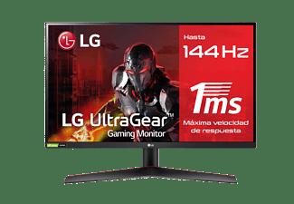 "Monitor gaming - LG 27GN600-B, 27"" FHD, 1 ms, 144 Hz, AMD FreeSync™ 2, 3-Side Borderless, HDR10, Negro"