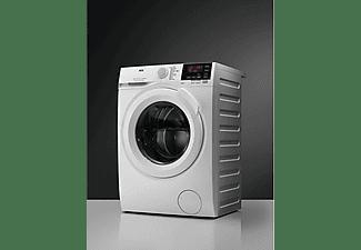 Lavadora carga frontal - AEG L6FSG841P, 8 kg, 1400 rpm, ProSense®, 11 programas, Blanco