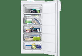 Congelador vertical - Zanussi ZUAN19FW, 187 l, Cíclico, FastFreeze, OptiSpace, 125 cm, Blanco