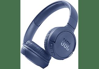 Auriculares inalámbricos - JBL Tune 510BT, Con Diadema, Bluetooth, 40h, USB Tipo-C, Conexión Multipunto, Azul