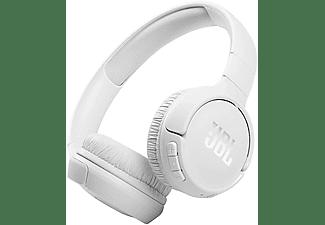 Auriculares inalámbricos - JBL Tune 510BT, Con Diadema, Bluetooth, 40h, USB-C, Conexión Multipunto, Blanco