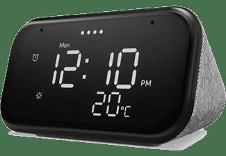 Reloj despertador inteligente - Lenovo Smart Clock Essential, 4 GB RAM, Bluetooth y WiFi, Flash 512 MB, Gris