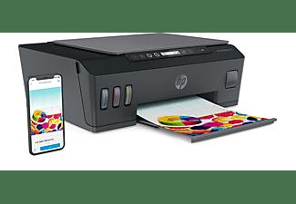 Impresora Multifunción - HP Smart Tank Plus 555, Imprime, copia y escanea, Bluetooth®, Negro