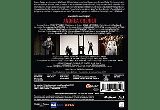Netrebko,Anna/Eyvazov,Yusif/Chailly,Riccardo/+ - Andrea Chénier  - (Blu-ray)