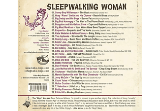 VARIOUS - Sleepwalking Woman  - (CD)