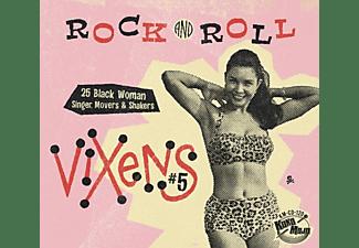 VARIOUS - Rock And Roll Vixens Vol.5  - (CD)