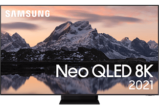 "SAMSUNG QE85QN800ATXXC 85"" 8K Neo QLED Smart-TV 2021- Stainless Steel"