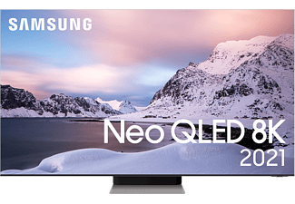 "SAMSUNG QE75QN900ATXXC 75"" 8K Neo QLED Smart-TV 2021 - Stainless Steel"