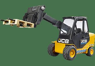 BRUDER JCB Teletruk mit Palette Spielfahrzeug Mehrfarbig