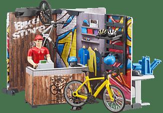 BRUDER bworld Fahrradshop Spielset Mehrfarbig