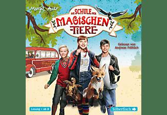 Margit Auer - Die Schule der magischen Tiere: Das Hörbuch zum Film [CD]