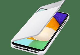 SAMSUNG S View Wallet Cover, Bookcover, Samsung, Galaxy A52, Galaxy A52 5G, Weiß