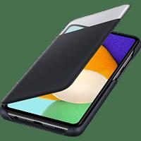 SAMSUNG S View Wallet Cover, Bookcover, Samsung, Galaxy A52/A52 5G, Schwarz