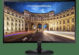 SAMSUNG Monitor C27F390FHR Curved, 27 Zoll, FHD, 250cd, VA, 4ms, Schwarz (LC27F390FHRXEN)