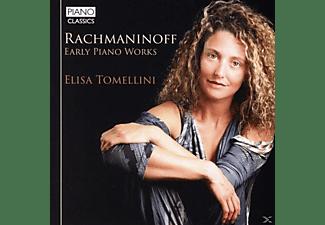 Elisa Tomellini - Rachmaninoff:Early Piano Works  - (CD)