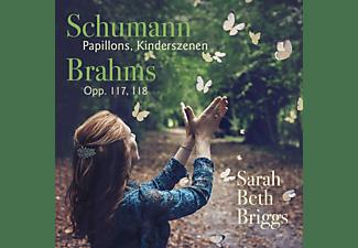 Sarah Beth Briggs - Schumann/Brahms:Piano Works  - (CD)