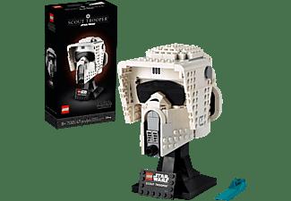 LEGO Star Wars™ Scout Trooper™ Helm Modellbausatz, Mehrfarbig