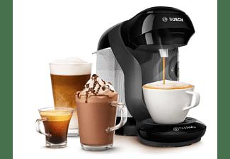 Cafetera de cápsulas - Bosch TAS1102, 1400 W, 0.7 l, 3.3 bar, T DISCS, 5 LEDs, Negro