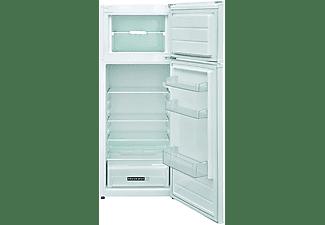 Frigorífico dos puertas - Whirlpool W55TM 4110 W 1, 212 l, Cíclico, Control mecánico, 41 dB, 144 cm, Blanco