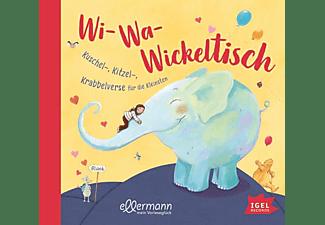 Dagamar Henze - Wi-Wa-Wickeltisch: Kuschel-,Kitzel-,Krabbelverse  - (CD)