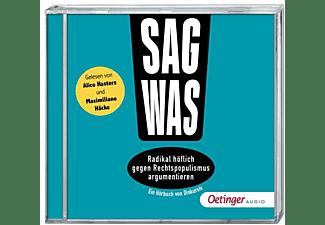 Steffan Philipp - Sag was! Radikal höflich gegen Rechtspopulismus ar  - (CD)