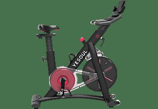 YESOUL S3 Smart Indoor Cycle, Schwarz