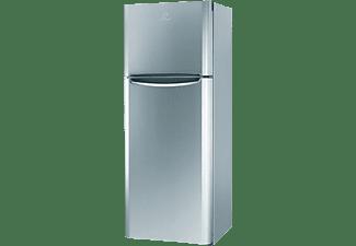 Frigorífico dos puertas - Indesit TIAA 10 V SI.1, 254 l, Cíclico, Puertas reversibles, 45 dB, 150 cm, Inox