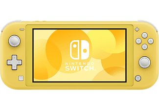 Consola - Nintendo Switch Lite, Portátil, Controles integrados, Amarillo