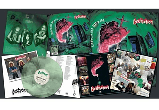 Destruction - Cracked Brain (LP/Marbled Vinyl)  - (Vinyl)