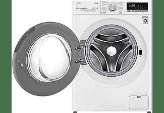 LG ELECTRONICS V5WD85SLIM Waschtrockner 8kg/5kg, 1200 U/Min. Weiß