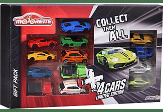 MAJORETTE Geschenkset Limited Edition 7 inklusive 13 Spielzeugautos Spielset Mehrfarbig